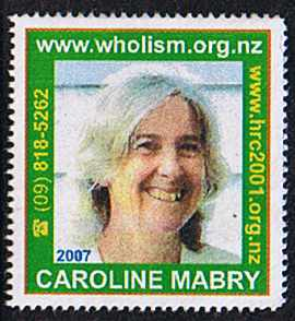 Click this stamp to email Caroline Mabry.